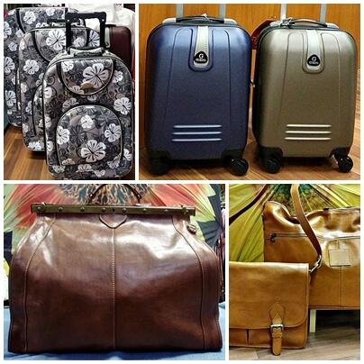 Utazótáskák, bőröndök